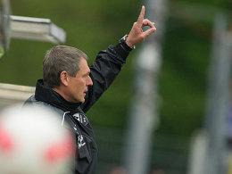 SVS-Coach Hans-Jürgen Boysen
