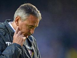Bleibt er Trainer in Dresden? Rund um das Spiel gegen Osnabrück gab es Verwirrung um Peter Pacult.