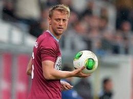 Routine für die Dresdner Defensive: Adnan Mravac.