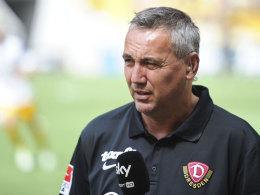 Seine zweite Amtszeit bei Dynamo Dresden ist beendet: Peter Pacult.