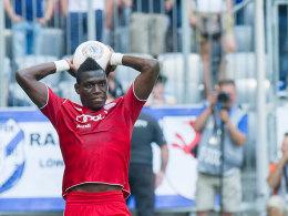 Danny da Costa am Sonntag beim Spiel in München
