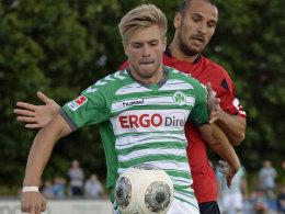 Will sich bei der SpVgg behaupten: Mittelfeldspieler Florian Trinks.