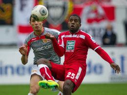 Kaiserslautern gegen Union, Occean gegen Kreilach.