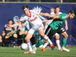 Mato Jajalo im Test gegen Legia Warschau