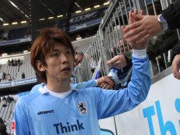 Naht schon der Abschied von den 1860-Fans? Yuya Osako hat eine Ausstiegsklausel.