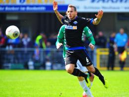Klasse Vorarbeiter: Paderborns Marvin Bakalorz leistete gegen Fürth zu beiden Treffer den Assist.