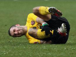 Für ihn ist die Saison bereits beendet: Dresdens Offensivmann Idir Ouali.