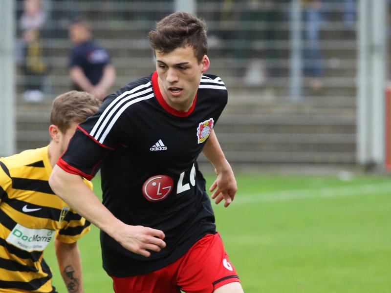 Heuert im Wildpark an: Jonas Meffert kommt von Bayer Leverkusen nach Karlsruhe.