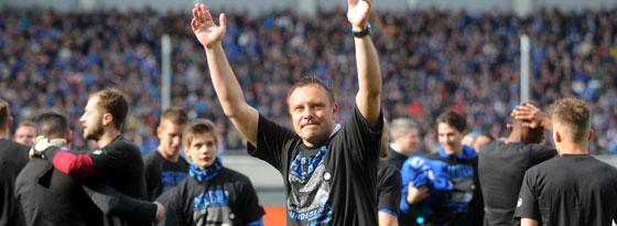 Abschied? Trainer André Breitenreiter ließ seine Zukunft offen.