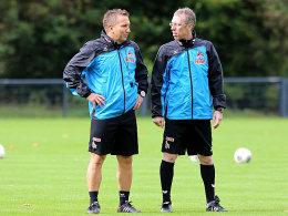 Manfred Schmid und Peter Stöger