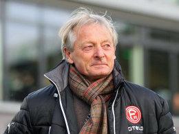 Es geht ihm besser: Lorenz-Günther Köstner möchte wieder als Trainer arbeiten.