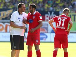 Frank Schmidt, Adriano Grimaldi & Florian Niederlechner