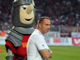 Union Berlins Trainer Norbert Düwel