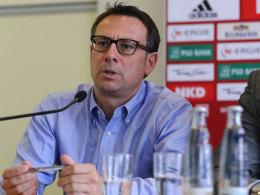 Nürnbergs Sportvorstand Martin Bader.