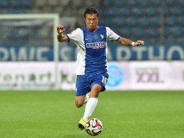 Sorgt nach einem schweren Sommer in Bochum für Furore: VfL-Spielmacher Yusuke Tasaka.