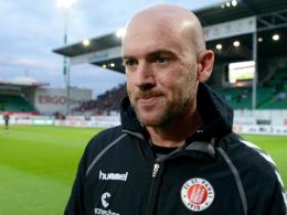 Das Spiel in Fürth war sein letztes als St.-Pauli-Coach: Roland Vrabec.