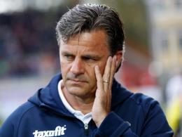 Erste Trainerentlassung der Saison: Falko Götz ist nicht mehr länger Coach von Erzgebirge Aue.
