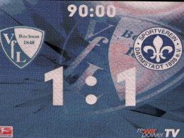 Altbekanntes in Bochum: Der VfL spielte auch gegen Darmstadt 1:1.