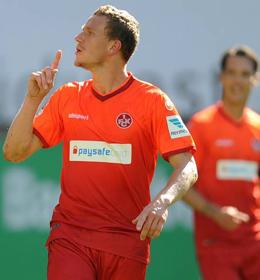 Duell der Verfolger: Marcel Gaus erwartet mit dem FCK die Fortuna aus D�sseldorf.