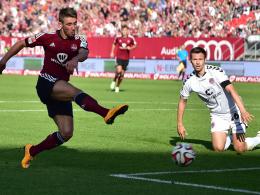 Doppelpack: Hier erzielt Jakub Sylvestr das 1:1 für den Club gegen St. Pauli.