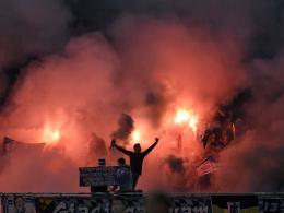 Erneute Geldstrafe wegen Bengalischer Feuer beim Spiel in Aalen am 3. Oktober 2014: TSV 1860 M�nchen.