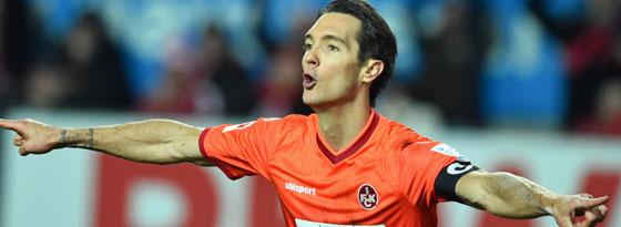 Machte das 1:1 für den FCK: Srdjan Lakic.