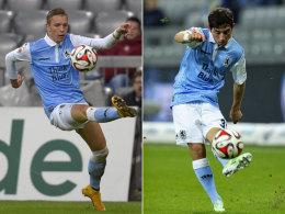 Zwei Talente, die unter Trainer Markus von Ahlen eine Chance bekommen: Marius Wolf (li.) und Maximilian Wittek.