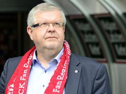 Steht am Sonntag für eine dritte Amtsperiode im höchsten Vereinsgremium zur Wiederwahl: Kaiserslauterns Vorsitzender Prof. Dr. Dr. Dieter Rombach.