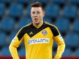 Vergab gegen Leipzig mehrere gute M�glichkeiten: Aalens Michael Klau�.