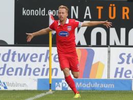 Auch in der 2. Liga top: Heidenheims Marc Schnatterer.