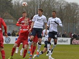 TSV 1860 München gegen VfB Stuttgart II