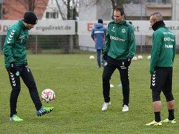 Florian Mohr, Sebastian Freis, Stephan Schröck (v.li.)