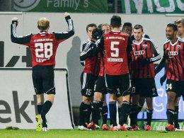 Drei Punkte zum Restrundenauftakt: Der Spieler des FC Ingolstadt.