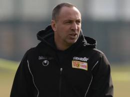 Unions Trainer Norbert Düwel