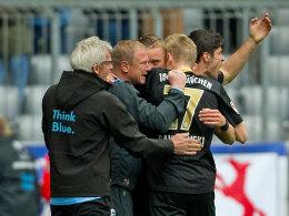 1860 München feiert das 1:1