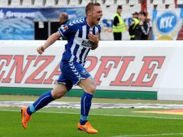 Mr. Doppelpack: Rouwen Hennings traf gegen Fürth zum fünften Mal in dieser Saison doppelt.
