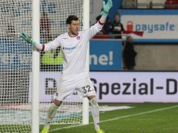 Genießt das Vertrauen des Trainers: FCK-Keeper Marius Müller.
