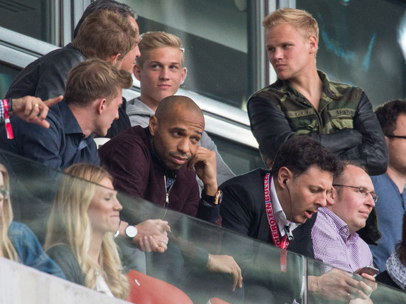 Thierry Henry in Leipzig