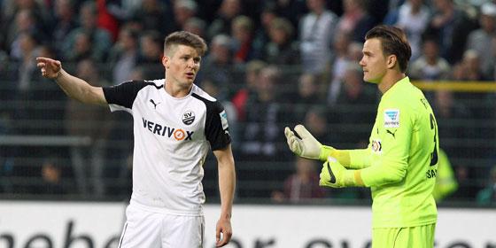 Auf zu neuen Ufern: Lukas K�bler (li.) und Manuel Riemann verabschieden sich nach Saisonende.