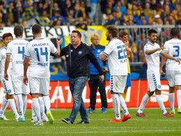 Setzt sich der KSC auch gegen 1860 München durch und steigt auf?