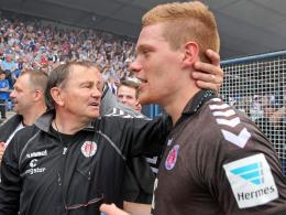 St.-Pauli-Coach Lienen hofft auf Halstenberg