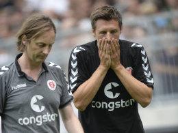 Kapit�n Gonther fehlt St. Pauli
