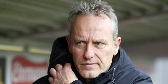 Fordert ausw�rts eine Spielweise wie zu Hause: SCF-Coach Christian Streich.