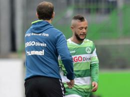 Wird die SpVgg Greuther Fürth verlassen: Stephan Schröck.