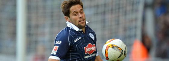 Bielefelds Mittelfeldspieler Michael Görlitz.