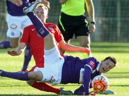 Hart umkämpft ging es zwischen dem 1. FC Heidenheim und Austria Wien zu.