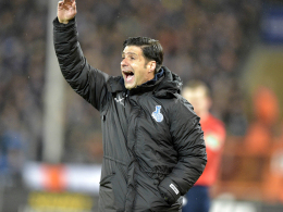 Enttäuscht, aber hoffnungsvoll: Duisburgs Trainer Ilia Gruev.