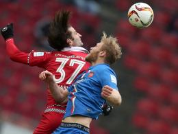 Verwandelte einen Handelfmeter für den Karlsruher SC: Manuel Torres.