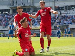 Jubelt er wieder gegen den SC Paderborn? Michael Görlitz.