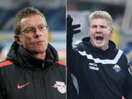 Ralf Rangnick und Stefan Effenberg